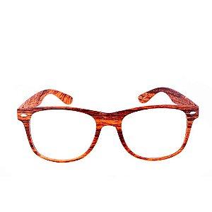 Óculos Receituário Conbelive estampado AMADeIRADO