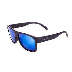 Óculos de Sol Conbelive Preto Fosco Espelhado