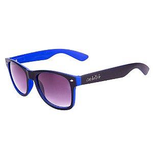 Óculos de Sol Conbelive Fosco Preto e Azul