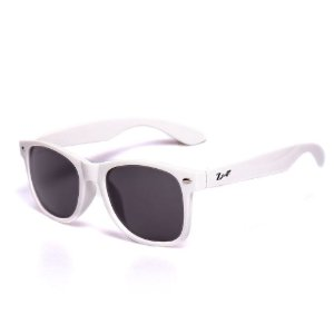Óculos de Sol Infantil ZJim Wayfarer Branco