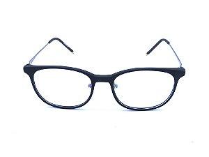 Óculos para Grau Prorider Preto e Cinza escuro Fosco - ADeLAR