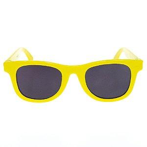 Óculos de Sol Infantil Quadrado Eva Solo - Amarelo