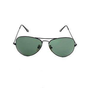 Óculos de Sol Aviador Prorider Preto - Cozumel