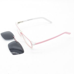 Óculos de Sol e de Grau Retro Prorider Rosa e Branco - TD8109