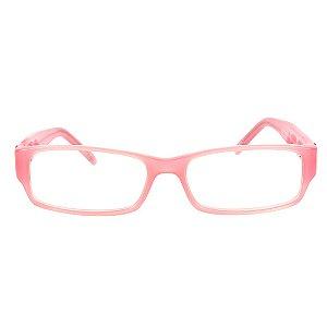 Óculos de Grau Retro Prorider Rosa com Detalhe - JC80719