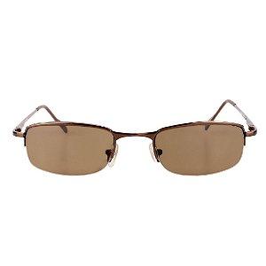 Óculos de Sol Retro Prorider Marrom Brilhante - PHUSI