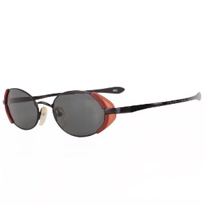 Óculos de Sol Prorider Retro em Preto e Marrom - 8832