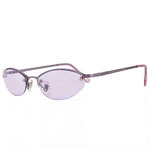 Óculos de Sol Prorider Retro Grafite Fosco com Lente Lilás - A2481