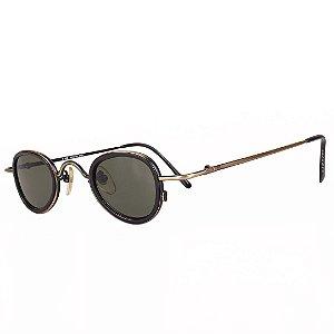 Óculos de Sol Prorider Retro Preto com Dourado - C308-2