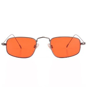 Óculos de Sol Prorider Retro Grafite Fosco com Lente Vermelha - CÓS