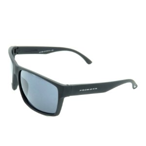 Óculos de Sol Prorider Preto Fosco com Lente Fumê - LL3106C3