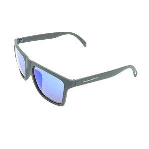 Óculos de Sol Prorider Preto Fosco com Lente Espelhada - XZ-44