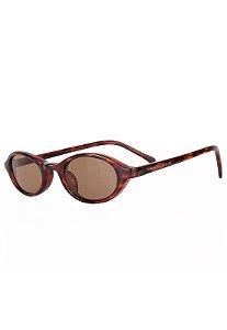 Óculos de Sol Redondinho Prorider Hype Retro Animal Print - MULLER