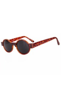 Óculos de Sol Redondinho Prorider Hype Retro Animal Print - NUTH