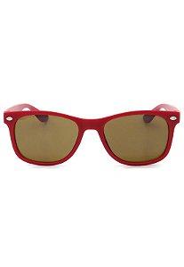 Óculos de Sol Prorider Infantil Vermelho Fosco - CJ8022C5