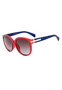 Óculos de Sol Prorider Vermelho e Azul Translúcido - 7007C82