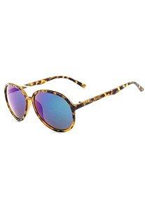 Óculos de Sol Prorider Animal Print Translúcido com Lente Espelhada - BH2204C3