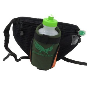 Bolsa Hidratadora preta e cinza com detalhe laranja - 200903013