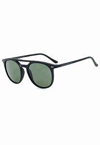 Óculos de Sol Retro Prorider Preto Fosco com Lente Verde - CJH72140C3