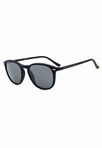 Óculos de Sol Retro Prorider Preto Fosco com Lente Fumê - CJH72141C2