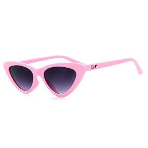 Óculos de Sol Infantil Z-JIM em Grilamid® TR-90 Gatinho Rosa