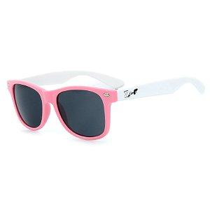 Óculos de Sol Infantil Z-JIM em Grilamid® TR-90 Quadrado Rosa