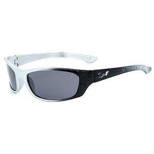 Óculos de Sol Infantil Z-JIM Esportivo Preto e Branco