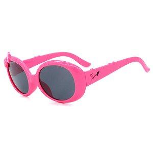 Óculos de Sol Infantil ZJim Redondo Rosa Chiclete