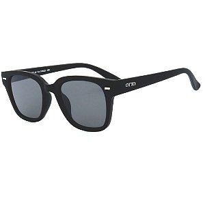 Óculos de Sol OTTO em Grilamid® TR-90 Quadrado Preto Fosco CJH72152-1