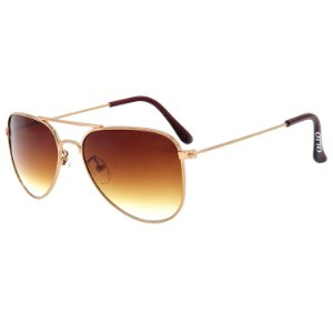 Óculos de Sol OTTO em Metal Monel® Aviador Rosê ZXD-2861