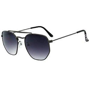 Óculos de Sol OTTO em Metal Monel® Redondo Grafite