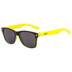 Óculos de Sol Infantil Z-JIM Quadrado Preto e Amarelo