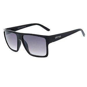 Óculos de Sol OTTO em Grilamid® TR-90 Quadrado Preto