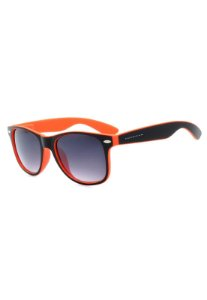 Óculos de Sol Prorider Preto e Laranja Fosco com Lente Degrade - W1-65-2