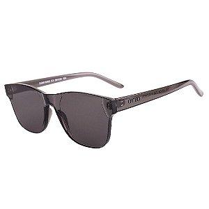 Óculos de Sol OTTO Acrillex TR-90 Quadrado Cinza