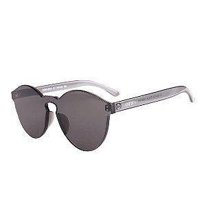 Óculos de Sol OTTO Policarbonato Redondo Cinza