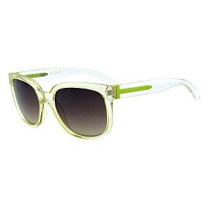 Óculos de Sol BellClover em Grilamid® TR-90 Translucido e Verde