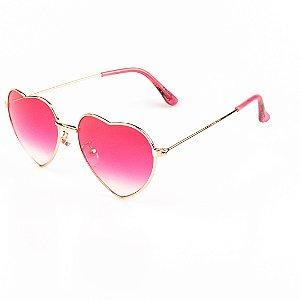 Óculos de Sol Infantil Red Hot Coração Menina