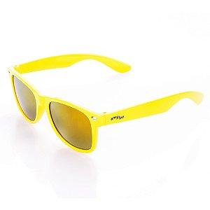 Óculos de Sol Amy Loo Quadrado Amarelo