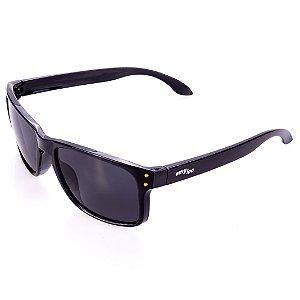 Óculos de Sol Amy Loo Retangular Preto
