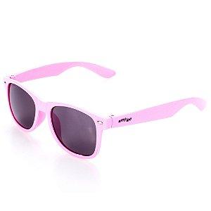 Óculos de Sol Amy Loo Quadrado Rosa Claro