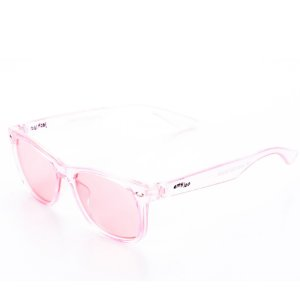 Óculos de Sol Amy Loo Casual Transparente