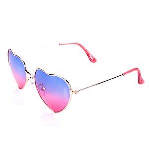 Óculos de Sol Amy Loo Coração Dourado