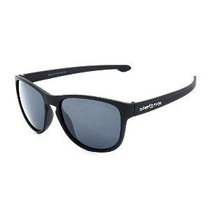 Óculos de Sol Dark Face Preto Fosco com Lente Fumê  - 2519