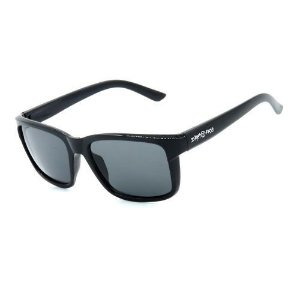 Óculos de Sol Dark Face Preto Brilhante com Lente Fumê  - D4445-1