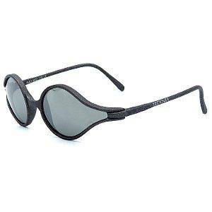 Óculos de Sol Titânia Retrô Cinza