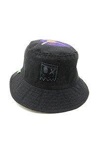 Chapeu bucket Dark Face preto com desenhos - DKFBUCKET