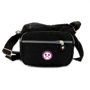 Shoulder Bag Dark Face Preta - BDFPCVB