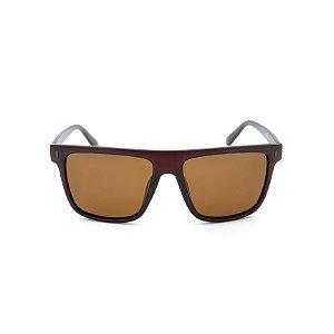 Óculos Solar Dark Marom com lente Marrom Polarizada - 29318P