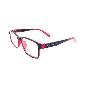 Óculos de Grau Prorider Preto e Vermelho - GP035-1